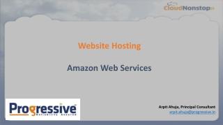 Website on AWS