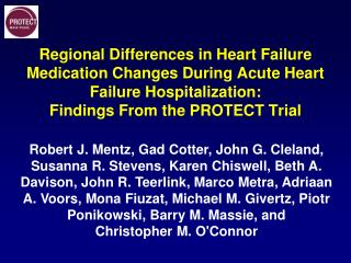 Regional Differences in Heart Failure Medication Changes During Acute Heart Failure Hospitalization:  Findings  From th