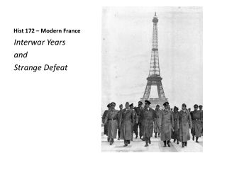 Hist  172 – Modern France