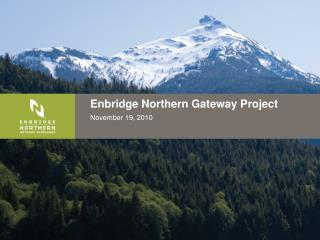 Enbridge Northern Gateway Project