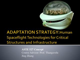ADAPTATION  STRATEGY: Human  Spaceflight Technologies for Critical Structures and Infrastructure