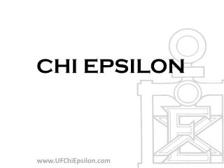 CHI  EPSILON