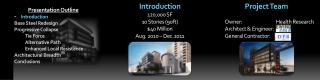 Introduction 120,000 SF 10 Stories (90ft) $40 Million Aug. 2010 – Dec.2011