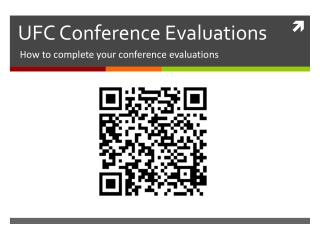 UFC Conference Evaluations