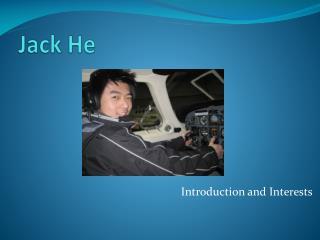 Jack He