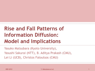 Rise and Fall Patterns of Information Diffusion: Model and Implications