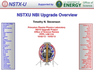 NSTXU NBI Upgrade Overview