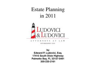 Estate Planning in 2011