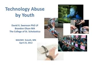 David X. Swenson PhD LP Brandon Olson MS