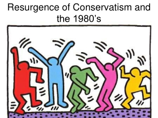Resurgence of Conservatism and the 1980's