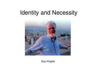 Identity and Necessity