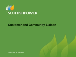 Customer and Community Liaison