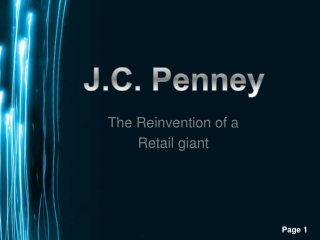 The Reinvention of a  Retail giant
