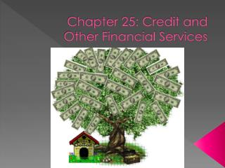 Chapter 25: Credit and Other Financial Services