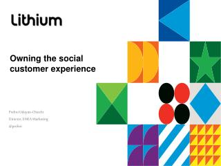 Owning the social customer experience