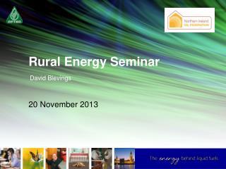 Rural Energy Seminar