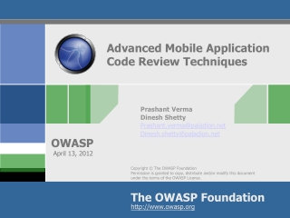 Advanced Mobile Application Code Review Techniques