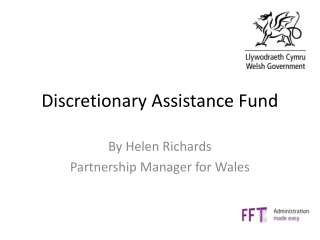 Discretionary Assistance Fund