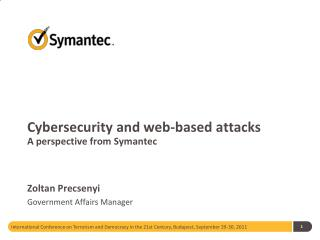 Cybersecurity  and web-based attacks A perspective from Symantec