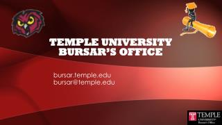 Temple University Bursar's Office