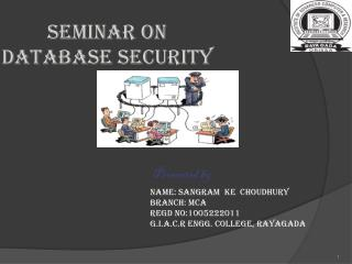 Seminar on DATABASE SECURITY