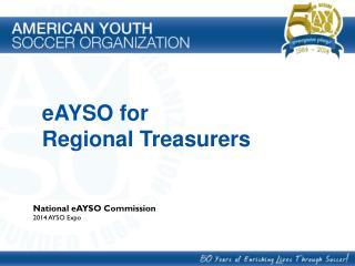 eAYSO for Regional Treasurers
