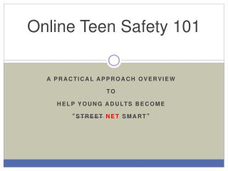 Online Teen Safety 101