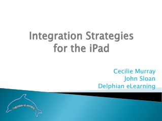 Integration Strategies  for the  iPad