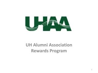 UH Alumni Association Rewards Program