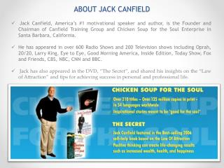 ABOUT JACK CANFIELD