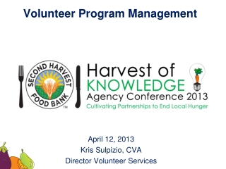 Volunteer Program Management