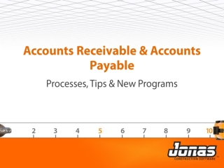Accounts Receivable & Accounts Payable