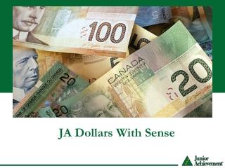 JA Dollars With Sense