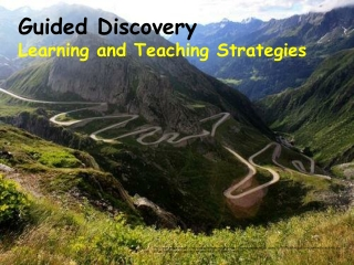 Guided Discovery  Learning and Teaching Strategies