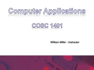 COSC 1401