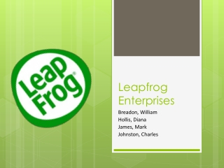 Leapfrog Enterprises