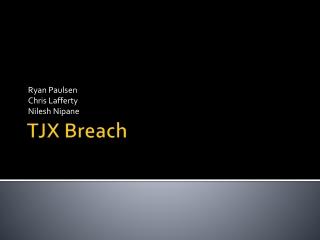 TJX Breach