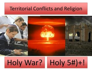 Territorial Conflicts and Religion