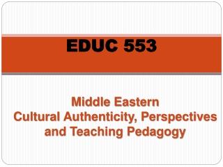 EDUC 553