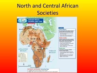 North and Central African Societies