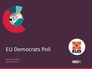EU Democrats Poll