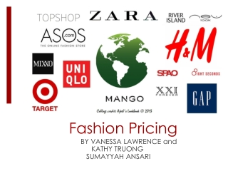 Fashion Pricing