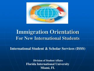 Immigration Orientation For New International Students