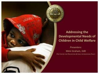 Addressing the Developmental Needs of Children in Child Welfare