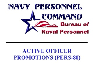 active officer promotions pers-80