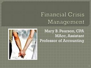 Financial Crisis Management