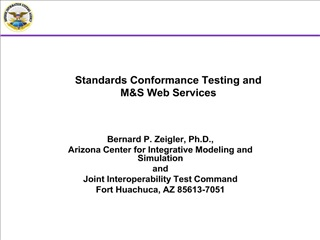 standards conformance testing and   ms web services