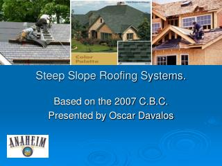 Steep Slope Roofing Systems.