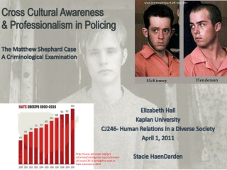 Cross Cultural Awareness  & Professionalism in Policing The Matthew  Shephard  Case A Criminological Examination
