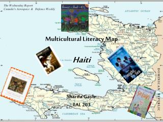multicultural literacy map  haiti